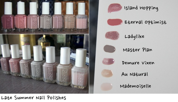 Essie Nail Polish: Neutral Rampage Summer 2014